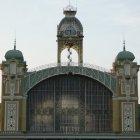 Часовая башня промышленного дворца