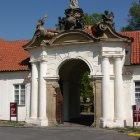 Вход в Бржевновский Монастырь