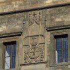 Детали стены Новоместской ратуши