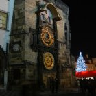Староместская ратуша под Рождество