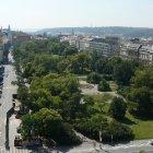 Вид на Карлову площадь с новоместской ратуши