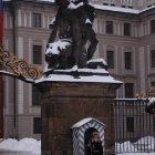 Охрана у главного входа в Пражский Град