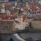 Вид Старого Города с банка «Влтава»