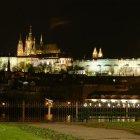 Ночной вид из Влтава банка