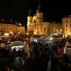 Сказочное рождество в Праге на староместской площади