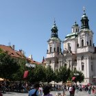 Парк и церковь Святого Николая на Староместской площади