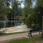 Прекрасный парк в Бржевнове, в Праге