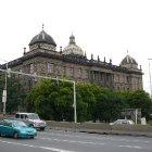 Национальный музей со спины