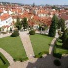 Вся Прага с высоты Вртбовского сада