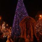 Новогодняя елка на Вацлавской площади
