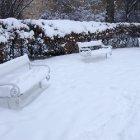 Снег на холме Петрин