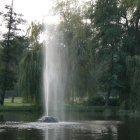 Небольшой фонтан в Стромовке