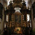 Алтарь церкви Девы Марии в Праге