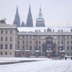 Пражский град и башни собора Св. Вита
