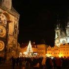 Рождество в Праге на Староместской площади