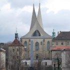 Эмаузский Монастырь при свете дня