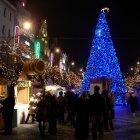 Площадь Вацлава и Рождественский базар