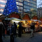 Рождество на Вацлавской Площади Праги