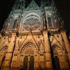 Ночной вид на собор Вита