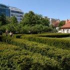 Зеленый, тихий оазис Праги