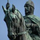 Святой Вацлав на коне