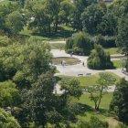 Карлова площадь - вид сверху