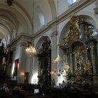 Интерьер церкви Девы Марии Торжествующей