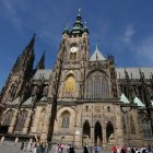 Собор святого Вита и вид на высокую башню
