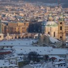 Градчаны под снегом