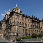 Национальный музей Праги - вид сбоку
