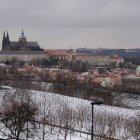 Пражский Замок зимой