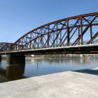 Железнодорожный мост через Влтаву