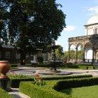 Поющий фонтан напротив Бельведера