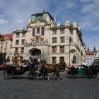 Конные экипажи в Праге
