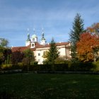 Смотровая Петршинская вышка и Страговский монастырь
