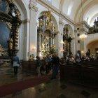 Скамьи в церкви Девы Марии в Праге