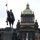 Статуя Святого Вацлава и Национальный музей