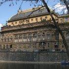 Национальный театр Праги - вид с Кампа