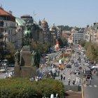 Вид на площадь Вацлава