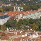 Южная сторона Пражского Града и Градчаны
