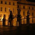 Ночной вход в Пражский Град