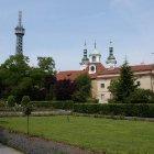 Страговский монастырь и Петршинская обзорная вышка