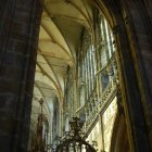 Рифленые своды собора святого Вита