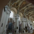 Прекрасный интерьер церкви Св. Маргариты в Бржевнове
