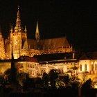 Пражский Град в ночном освещении
