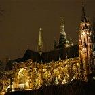 Золотая ночь у собора святого Вита