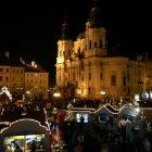 Рождественский базарчик на Староместской