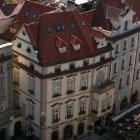 Вид на гостиницу с террасой с крыши Городского муниципалитета