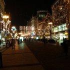 Вацлавская площадь в Новогоднем убранстве