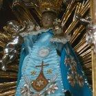 Маленький Иисус в голубом одеянии